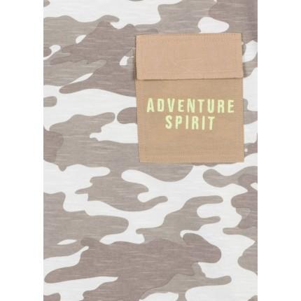 Detalle bolsillo de Camiseta Losan niño junior Adventure Spirit manga corta