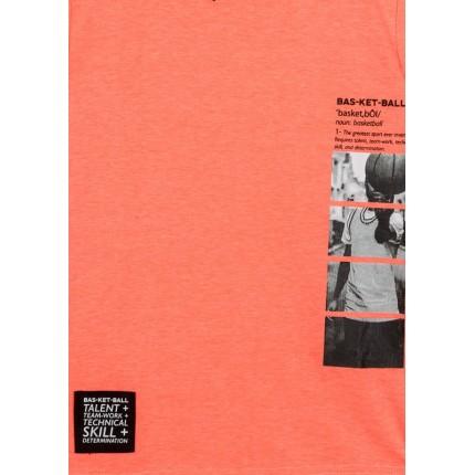Detalle estampado de Camiseta Losan niño junior Talent manga corta