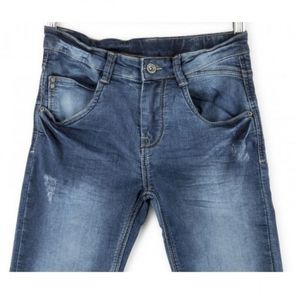 Pantalón Denim Losan Pitillo niño junior rotos