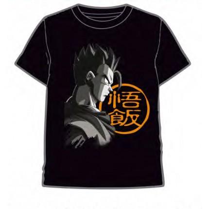 Camiseta Dragon Ball Son Gothen adulto manga corta