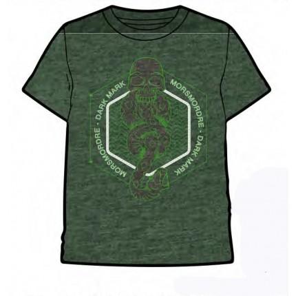 Camiseta Harry Potter adulto Morsmordre manga corta