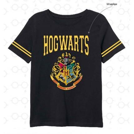 Camiseta Harry Potter niño junior Hogwarts manga corta