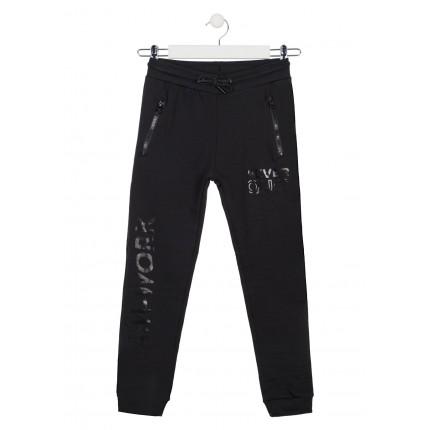 Pantalón Jogging Losan niño junior de felpa no perchada