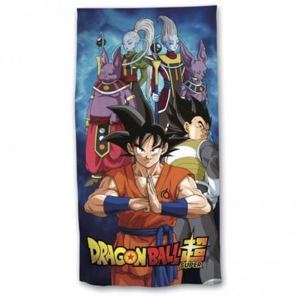 Toalla Dragon Ball Super Saiyan Son Goku playa