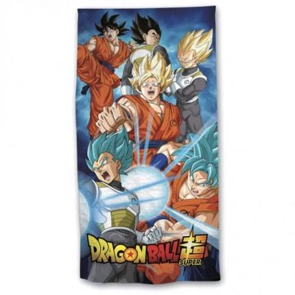 Toalla Dragon Ball Super Saiyan Vegetto playa