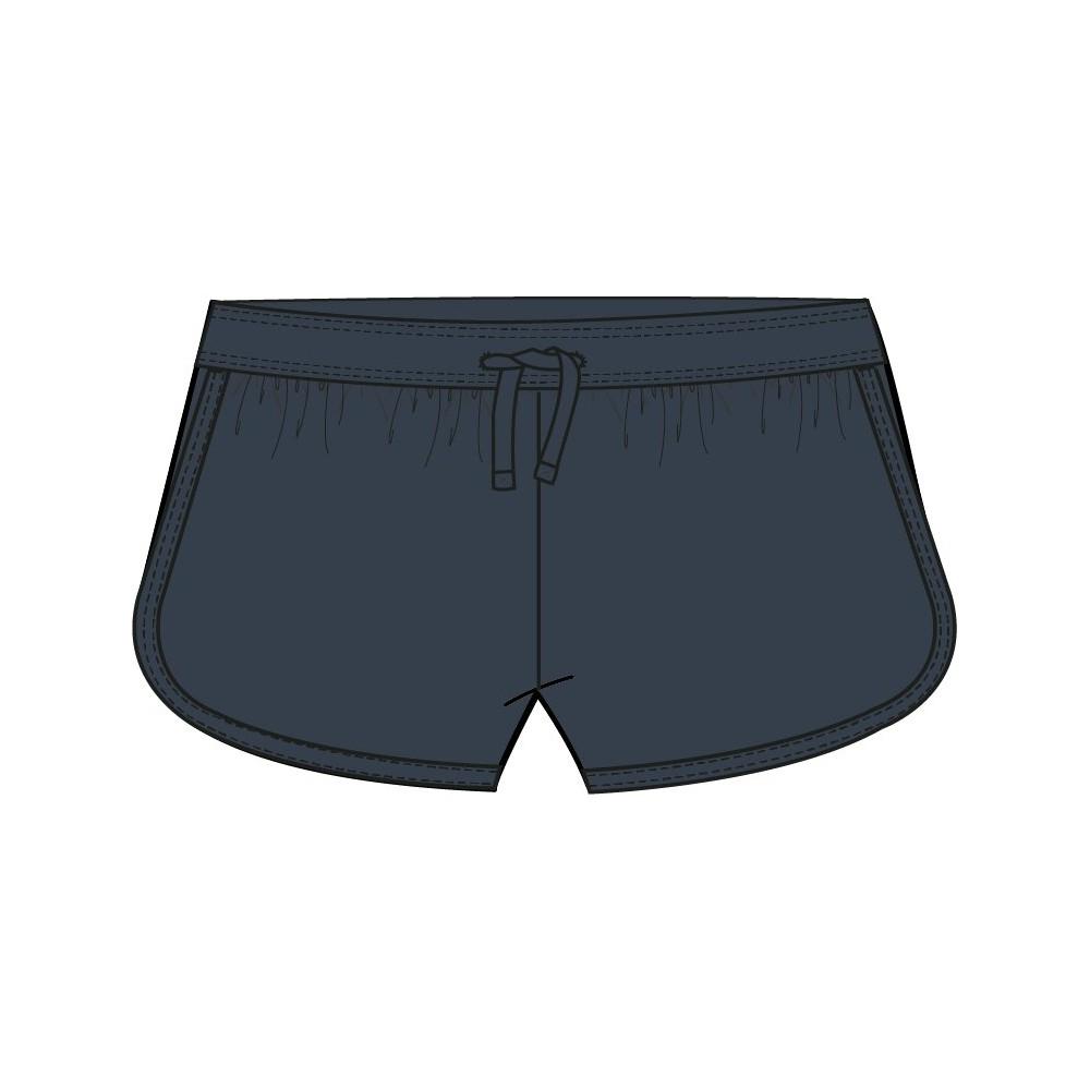 Pantalón Losan corto niña junior en punto liso azul claro