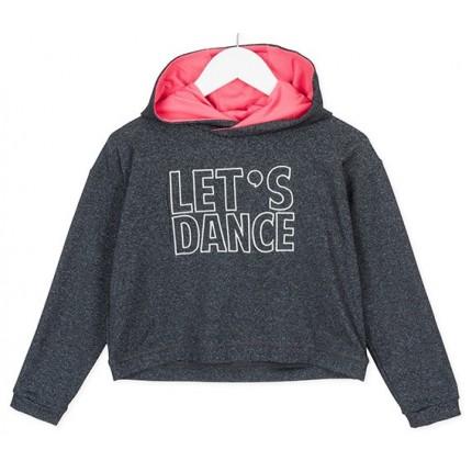 Sudadera Losan niña junior Dance capucha