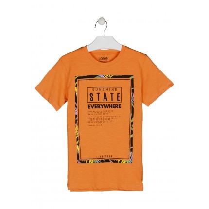 Camiseta Losan niño junior Sunshine manga corta
