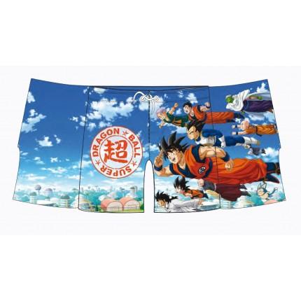 Bañador Dragon Ball Super niño Volando con cordón