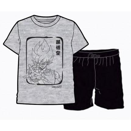 Pijama Dragon Ball Goku niño manga corta