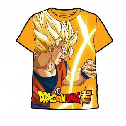 Camiseta Dragon Ball Super Saiyan Goku manga corta