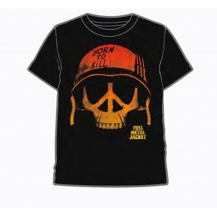 Camiseta Full Metal Jacket Casco adulto manga corta