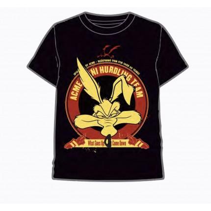 Camiseta Coyote Looney Tunes adulto manga corta