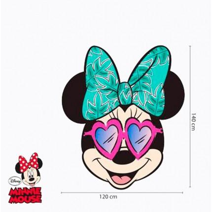 Toalla Microfibra Minnie Mouse Cara grandísima