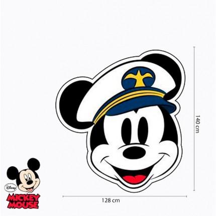 Toalla Microfibra Mickey Mouse Capitán grandísima