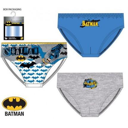 Calzoncillos Batman niño slips pack de 3