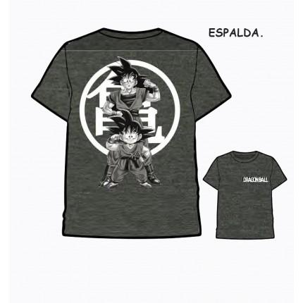 Camiseta Dragon Ball Adulto Son Goku manga corta