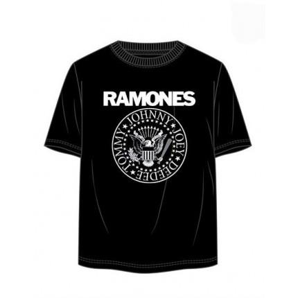 Camiseta Música RAMONES adulto manga corta