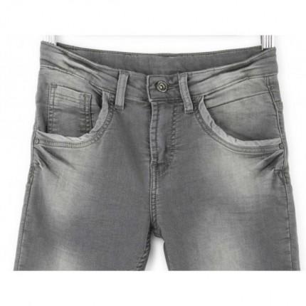Pantalón Denim Losan skinny cinco bolsillos rotos