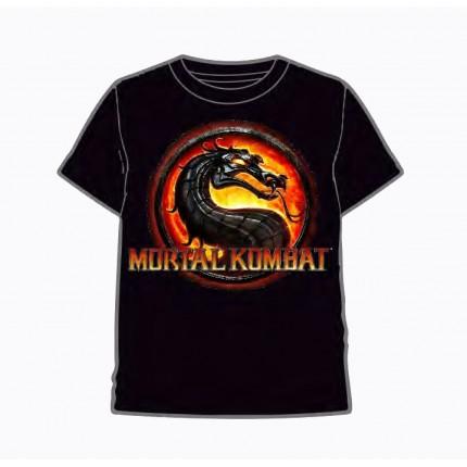 Camiseta Mortal Kombat adulto manga corta