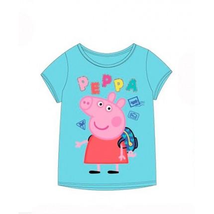 Camiseta Peppa Pig  de George niño o niña manga corta
