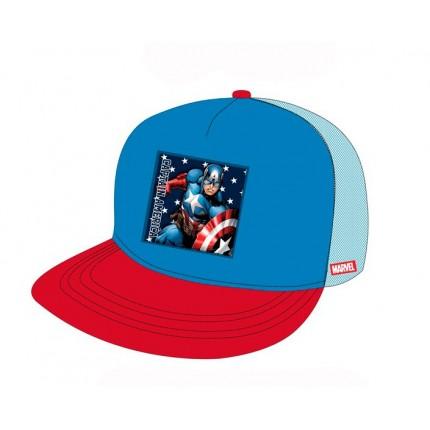 Gorra Avengers Capitán América niño snapback Vengadores