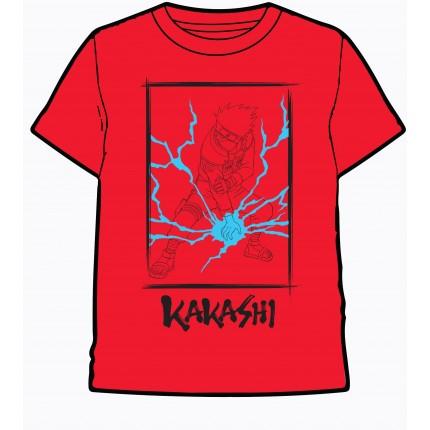 Camiseta Naruto niño manga corta Kakashi Anime Manga