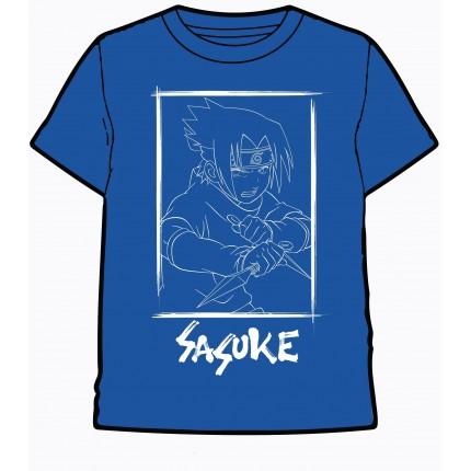 Camiseta Naruto niño manga corta Sasuke Anime Manga