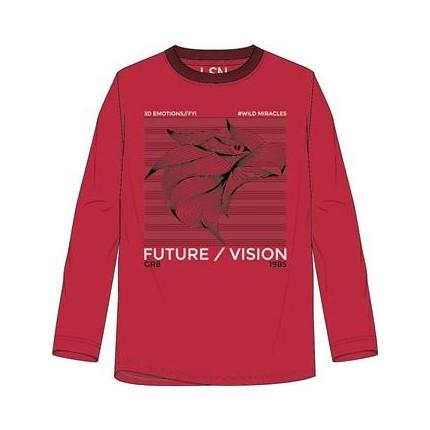 Camiseta LSN junior niño Future/Visión manga larga