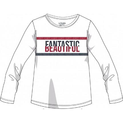 Camiseta LSN junior niña Fantastic Beautiful manga larga