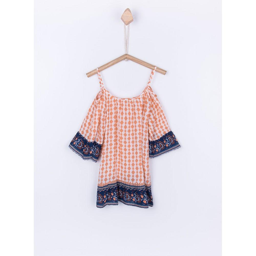 Camisa Tiffosi Doroti niña junior 3/4 mangas