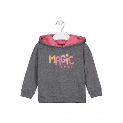Sudadera Losan Kids niña Magic Wand con capucha