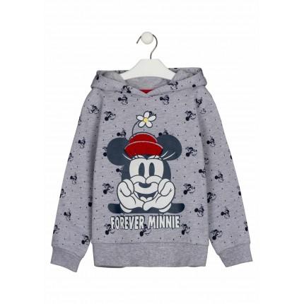 Sudadera Minnie Disney con capucha y estampada