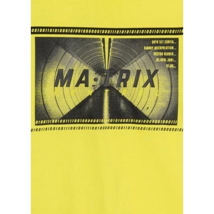 Detalle del dibujo de Camiseta Losan niño junior Matrix manga larga