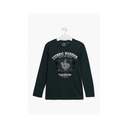 Camiseta Losan niño junior Eternal Warrior manga larga