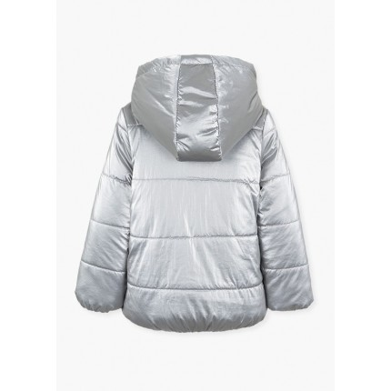 Espalda de Parka Losan Kids niña Nordic Island con capucha desmontable
