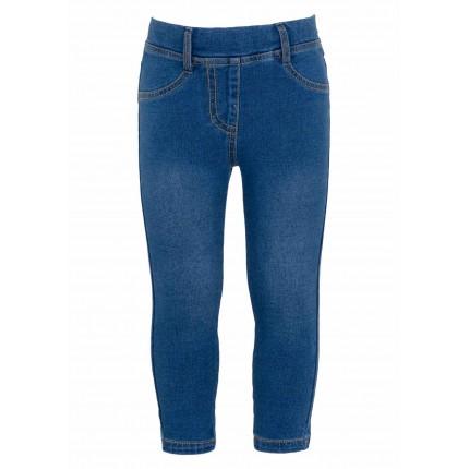 Pantalón efecto denim Losan felpa no perchada en azul