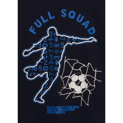 Detalle dibujo de Camiseta Losan kids niño Soccer manga larga con print