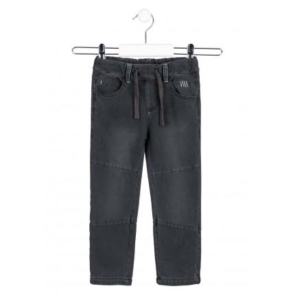 Pantalón efecto Denim Losan niño de felpa no perchada
