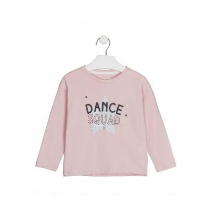 Camiseta Losan Kids niña Dance Squad manga larga
