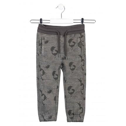 Pantalón Jogging Losan niño Dinos algodón orgánico