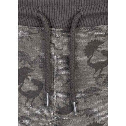 Detalle del cordón de Pantalón Jogging Losan niño Dinos algodón orgánico