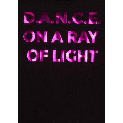 Detalle estampado de Camiseta LSN Junior niña Dance manga larga