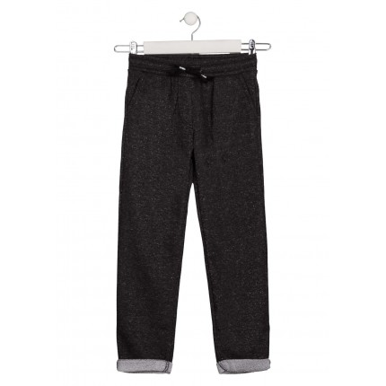 Pantalón LSN junior niña Soft Wild de felpa no perchada