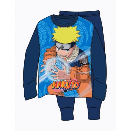 Pijama Naruto Uzamaki niño manga larga