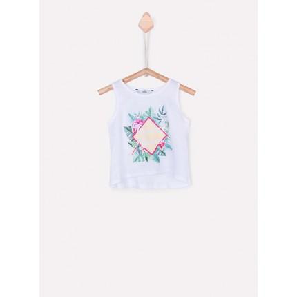 Camiseta Tiffosi Riviera niña tirantes
