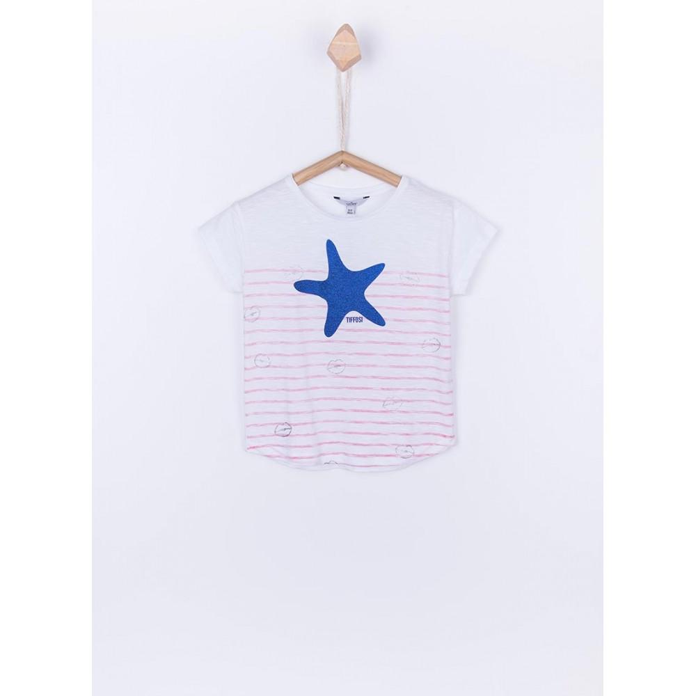 Camiseta Tiffosi Jill niña junior manga corta