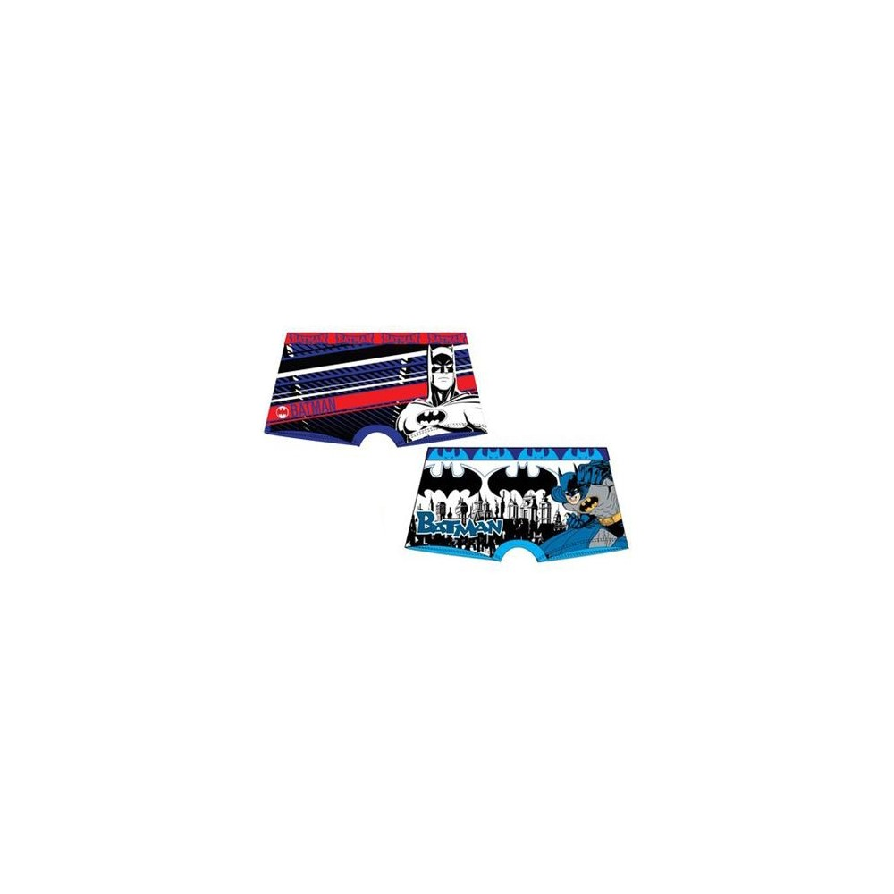Pack de 2 Boxers Batman Niño Kids goma