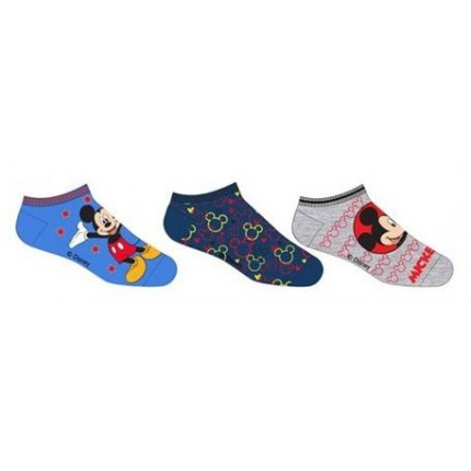 Pack de 3 calcetines Mickey cortos