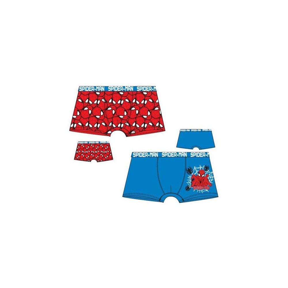 Pack de 2 boxers Spider-man niño goma